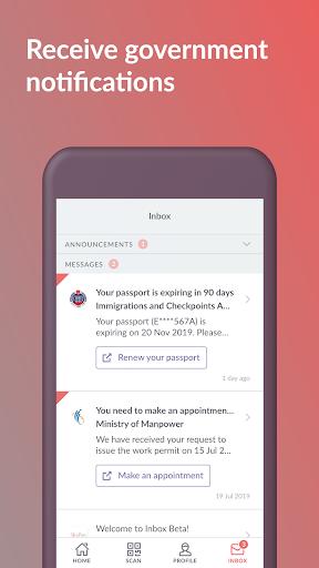 SingPass Mobile screenshot 5