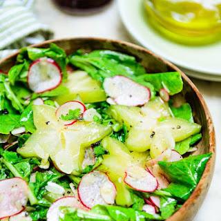 Starfruit Almond Salad.