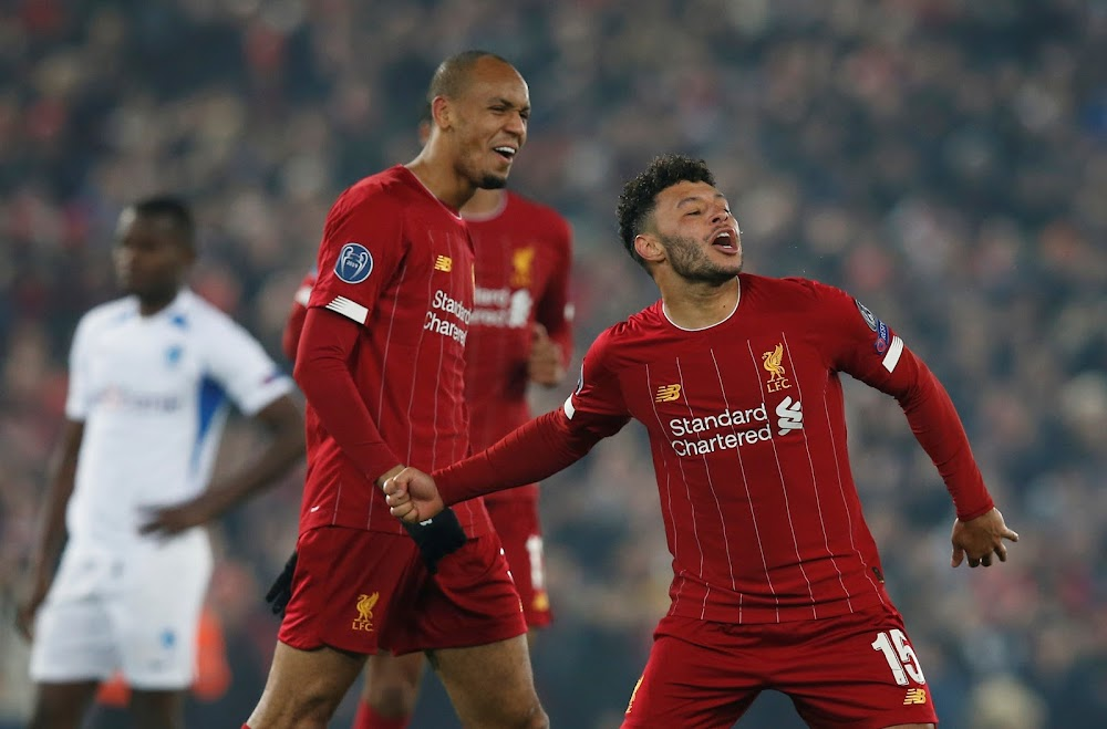 Liverpool's Oxlade-Chamberlain sidelined with ankle injury - TimesLIVE