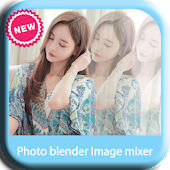 Photo blender Image mixer new