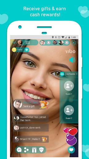 Vibo Live: Live Stream, Random call, Video chat 1.0.0.0.0.0.0.0 screenshots 2