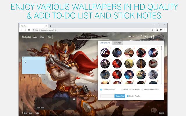 League of Legends Yasuo Wallpaper HD LoL Yasuo New Tab