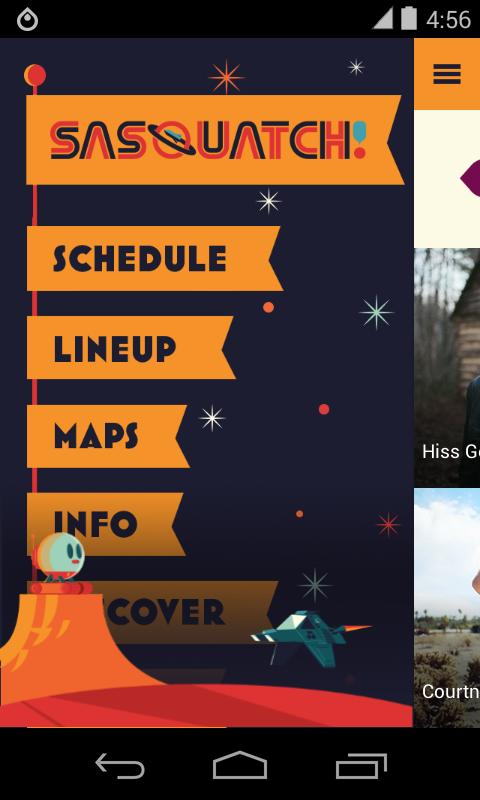 Sasquatch! Festival 2015 - screenshot