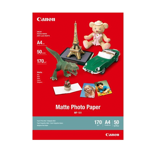 Canon Matte Photo Paper - A4
