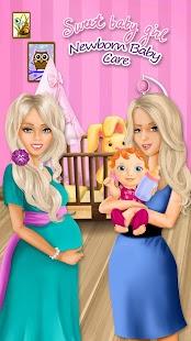 Download Sweet Baby Girl Newborn Baby For PC Windows and Mac apk screenshot 1