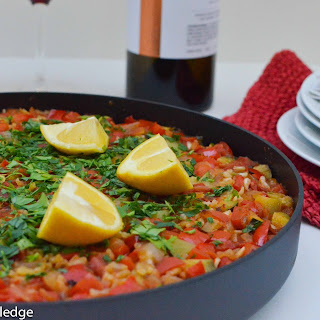 A Very Vegan Paella