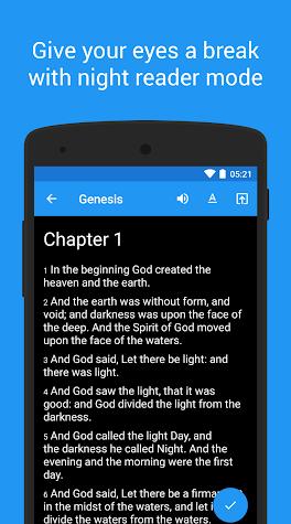 King James Bible (KJV) - free Screenshot