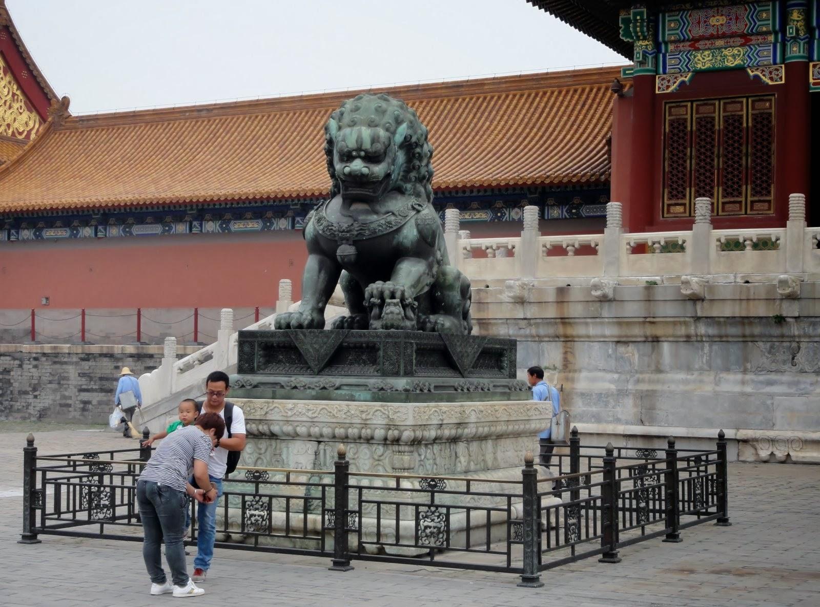 Photo: De leeuw staat symbool voor dapperheid.