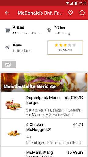 LIEFERHELD | Food Delivery  screenshots 2