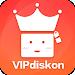 VIPdiskon - Promo & Cashback Setiap Hari Icon