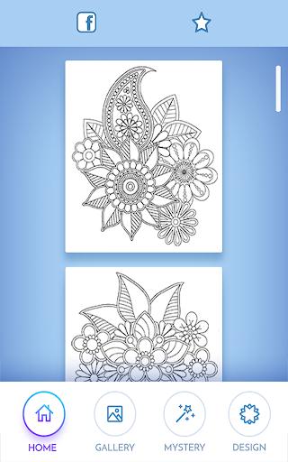Livre colorier pour adultes  captures d'écran 1