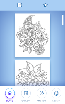 Coloring Book For Adults APK Screenshot Thumbnail 1