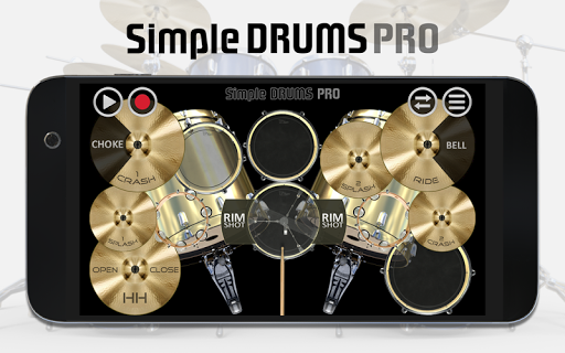 Simple Drums Pro - The Complete Drum App 1.1.7 screenshots 5