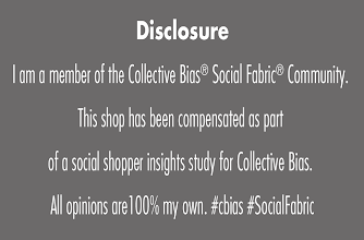 Photo: Disclosure - This shop has been compensated as part of a social shopper insights study for Collective Bias. All opinions are 100% my own. #cbias #SocialFabric
