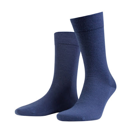 Amanda Christensen Grade ankle sock denim blue