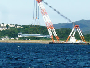 Photo: 帰りの途中、「橋」を発見!