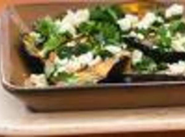 Grilled Eggplant W/garlic-cumin Vinaigrette (sammie?) Recipe