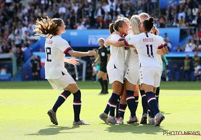 Coupe du Monde féminine : les USA et la Suède poursuivent l'aventure en huitièmes de finale