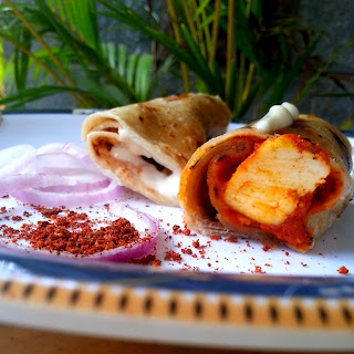 Creemy Paneer Cheese Wrap