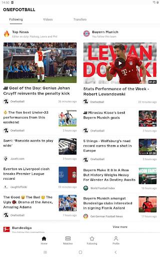 OneFootball - Soccer Scores screenshot 8