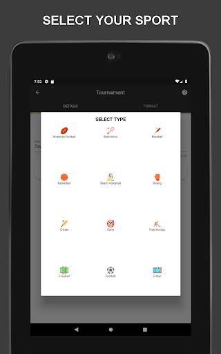 Winner - Tournament Maker App, League Manager 9.1.0 Screenshots 15