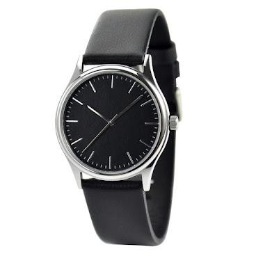 簡約幼條釘手錶