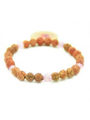 Love Stone Rudraksha armband
