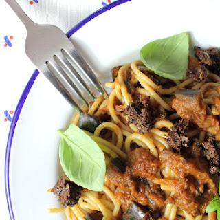 Spaghetti Marinara No Tomato Recipes