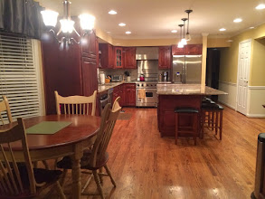 Photo: Open Kitchen with large Island