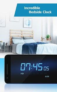 ⏰ Smart Alarm Clock and Nightstand Clock Wid s Android Apps