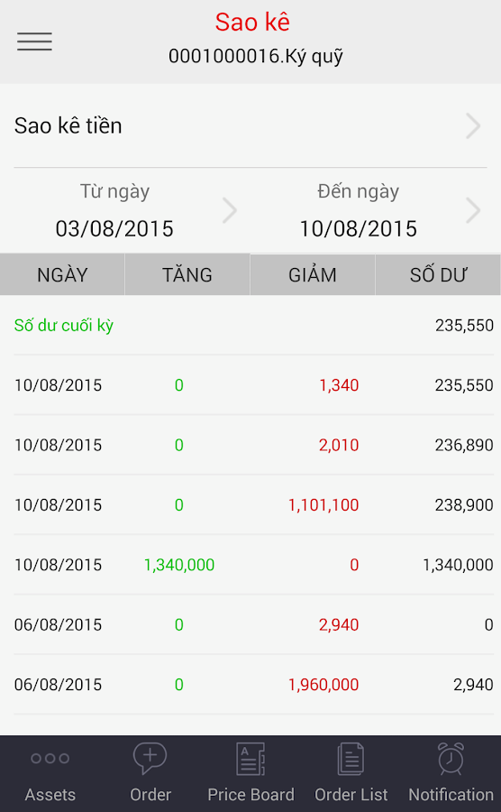 TCInvest- screenshot