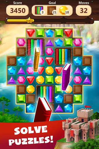 Jewels Planet - Free Match 3 & Puzzle Game screenshots 6
