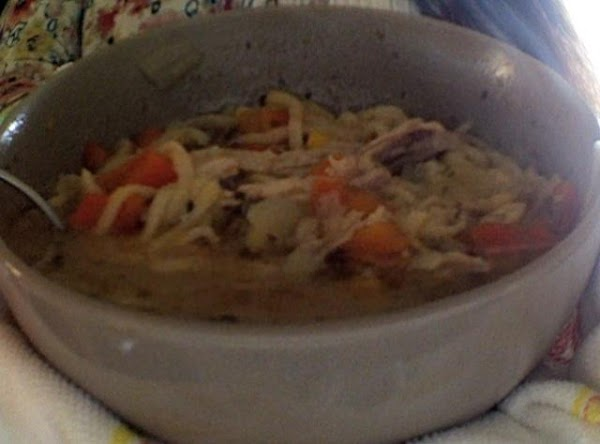 Hannah's Homemade Turkey Stew Recipe