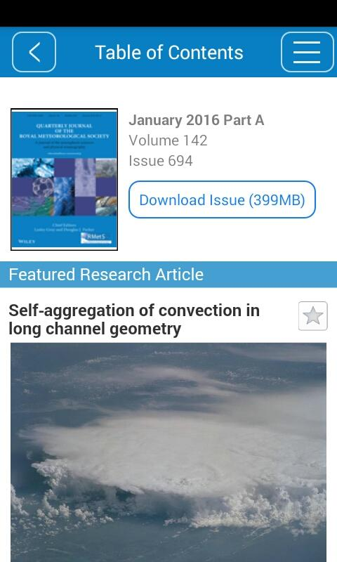 Quarterly Journal of the RMetS- screenshot