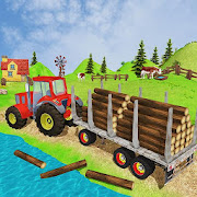 Tractor farming Cargo Games Transport 3D