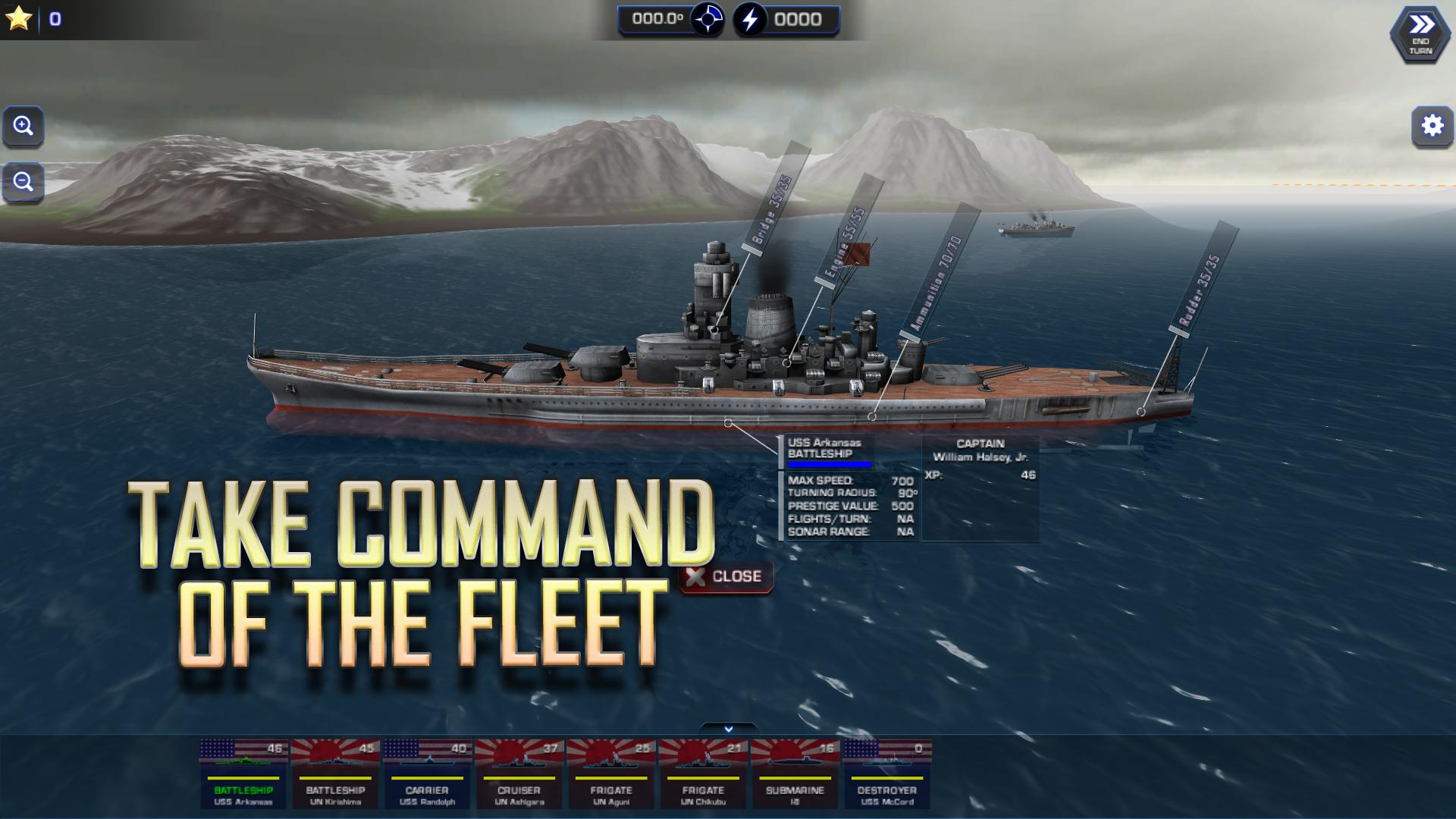 Battle Fleet 2 screenshot #1