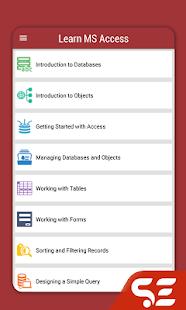 Learn MS Access - náhled