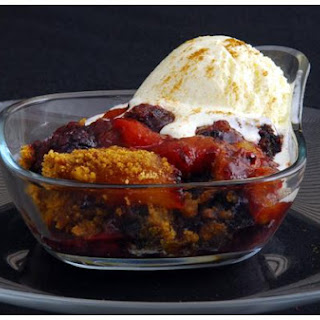 Blackberry Peach Betty