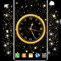 Dark Analog Clock ⭐  Black Amoled Live Wallpaper