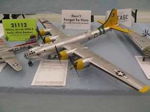 Photo: And this B-29 in 8th AF markings done with the Monogram 48th scale kit.