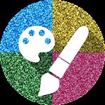 Glitter Paint Icon