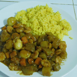 Japanese Curry with Shrimp Recipe