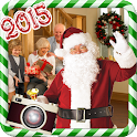 Santa Claus photo frames icon
