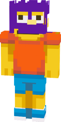 Origanal skin by Kefka on planet minecraft. Character Copyright Matt Greoning.