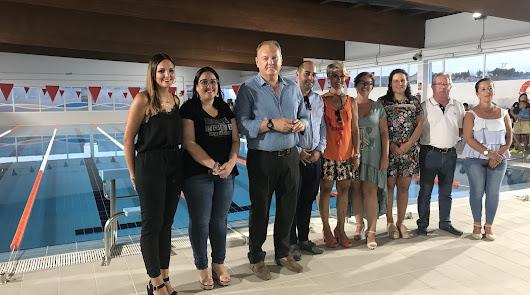 La piscina cubierta reabre sus puertas tras una inversión de 446.248 euros