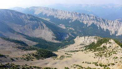 Photo: View toward Home Gulch from the ridge.