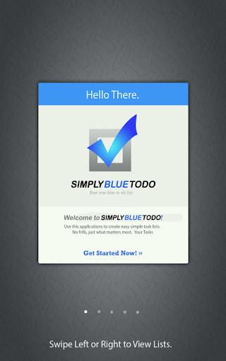 Simply Blue ToDo Free