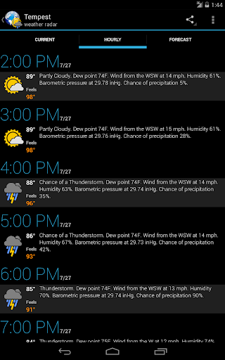 eweather hd and radar premium apk