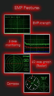 Ultimate Ghost Detector (real EMF, EVP recorder) Screenshot