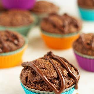 Banana Chocolate Spelt Flour Muffins.